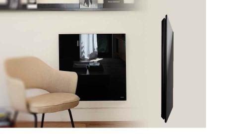 radiateur verre design d coratif contemporain lectrique. Black Bedroom Furniture Sets. Home Design Ideas