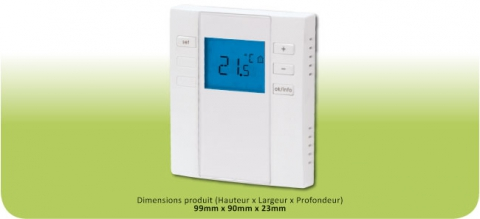 Neomitis - Thermostat Digital Radio Boost Programmable