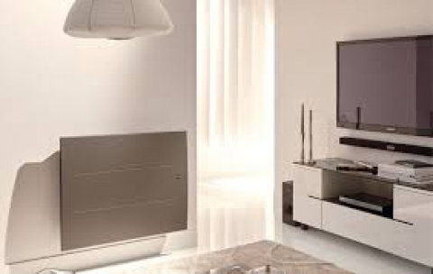 radiateur electrique rayonnant inertie verre infra rouge lointain. Black Bedroom Furniture Sets. Home Design Ideas