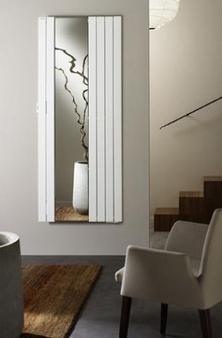 radiateur letrique fa ade en verre inertie rayonnant infra rouge. Black Bedroom Furniture Sets. Home Design Ideas